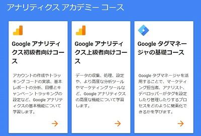 Google アナリティクス アカデミー